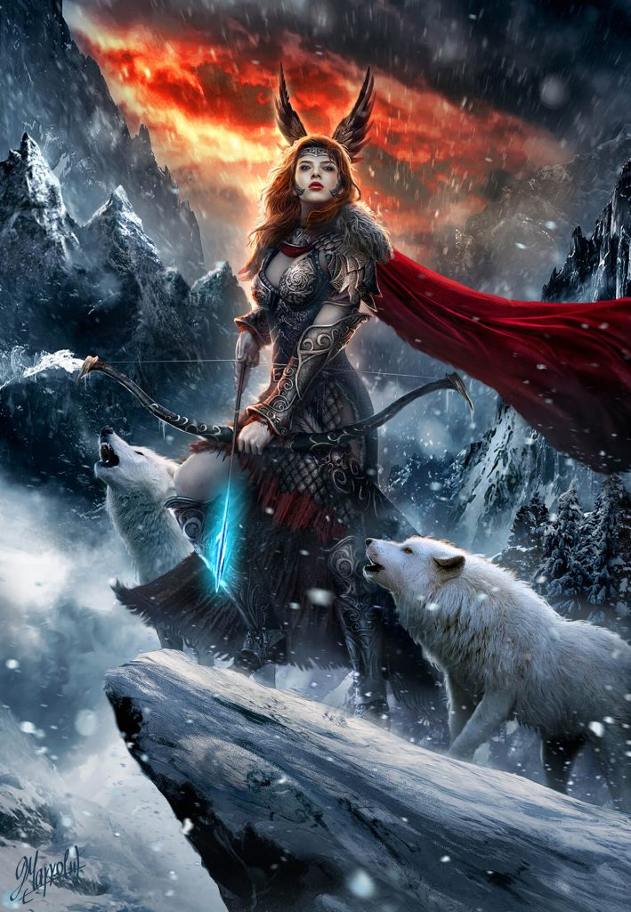 Skadi, Goddess of North